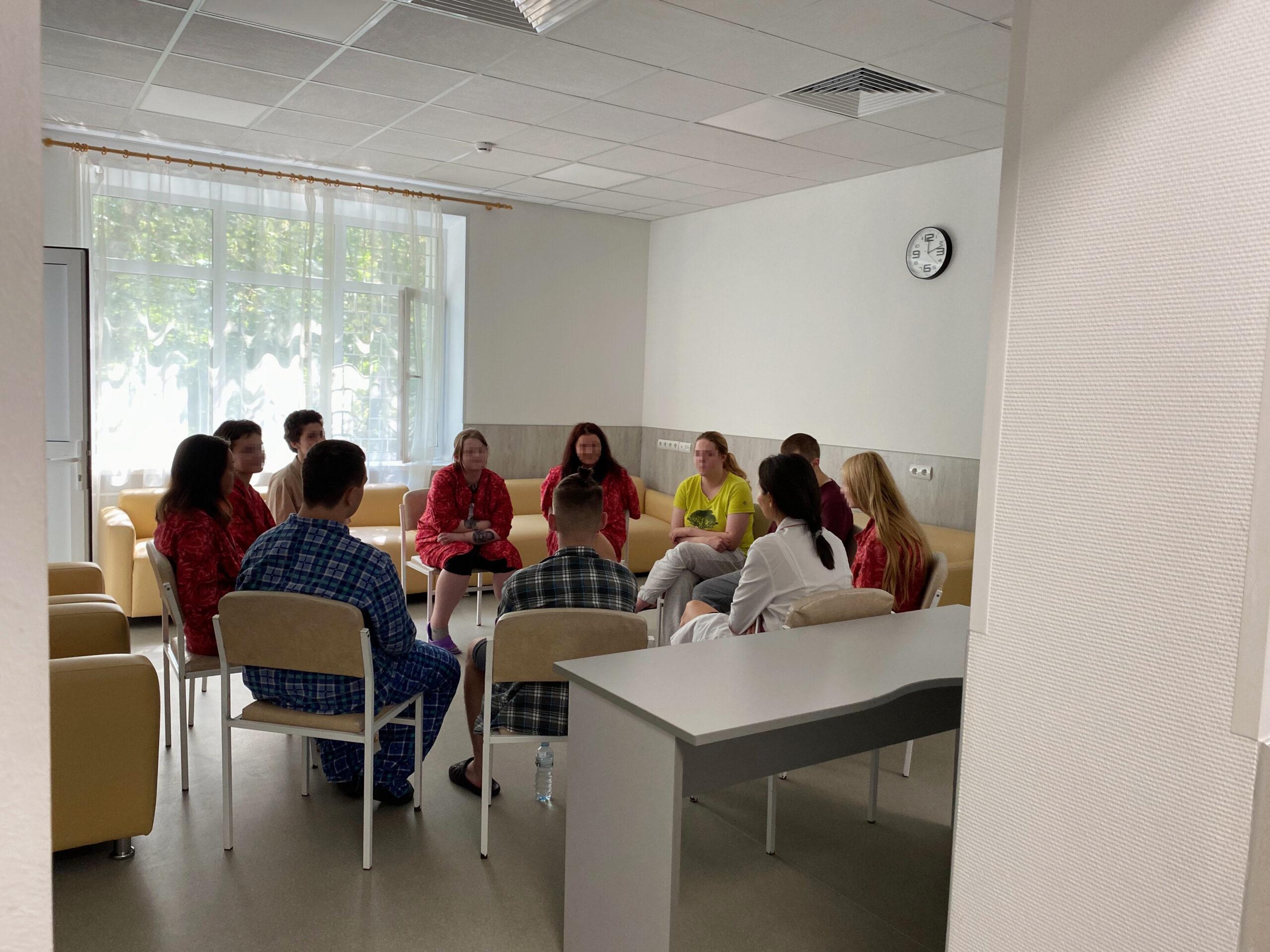 Read more about the article Начало групповой психокоррекции